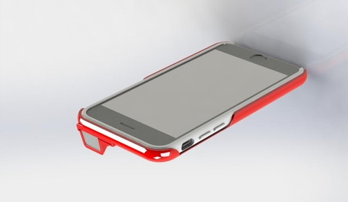 Final design of the COVR Photo Lens Case for the iPhone 6