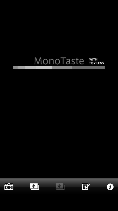 MonoTaste with Toy Lens